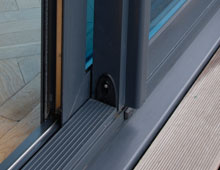 Effortless sliding Aluminium Sliding Patio Doors