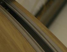Smooth Running Aluminium bi-folding doors
