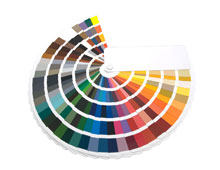 ANcillary Glazing Products Colour Wheel