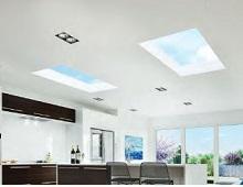 Flat Roof Lights Lighten Up
