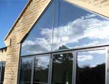 Aluminium Shaped Windows